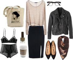 Outfit, look, rosa, vintage, retro, chicas, style, falda tubo, pink, fashion, moda, fashionista www.PiensaenChic.com