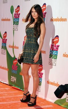 2. Megan Fox At The Nickelodeon Kids' Choice Sports Awards 2014 | The Most Fab And Drab Celebrity Outfits Of The Week