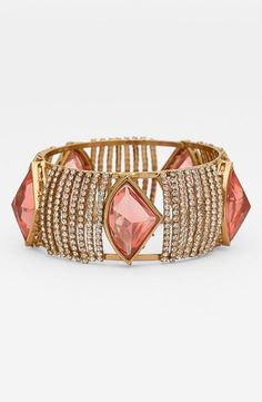 Gorgeous pink sparkle bangle