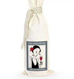 Grab a bottle of wine, put it in this bag and there you have the perfect gift. Great for dinner parties, birthdays, corporate gifts or wedding favors. No card required, the gift says it all. Corporate Gifts, Gift Bags, Cool Gifts, Wedding Favors, Wine, Coffee, Wedding Keepsakes, Kaffee, Promotional Giveaways