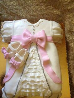 Great idea for a Christening Cake