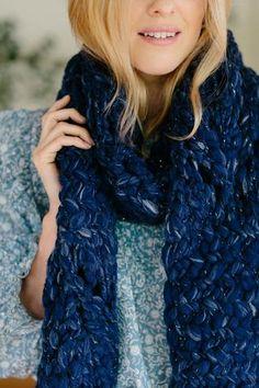 Trendy Ideas For Knitting Scarf Pattern Fast One Skein Crochet, Crochet Flower Hat, Crochet Headband Pattern, Baby Knitting Patterns, Knitting Stitches, Cowl Patterns, Beginner Knit Scarf, Skirt Pattern Free, Herringbone Stitch