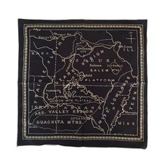 Mollyjogger Ozarks 1900 Bandana | Black