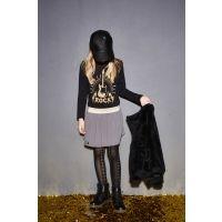 Zwart t-shirt met gouden ROCK gitaarprint - Mister Monkey and Misses Butterfly - Yporqué - KidsCollection - Barcelona - Boys - Girls - Size 92  - 98 - 104 - 116 - 128 - AW16