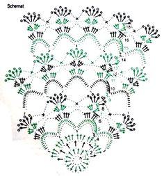 Free Crochet Doily Patterns, Crochet Doily Diagram, Crochet Mandala, Crochet Doilies, Crochet Lace, Crochet Stitches, Crochet Crafts, Crochet Projects, Crochet Keychain