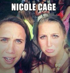 Female Nicolas Cage…