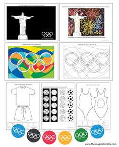 2016 Rio Olympic Games Creative Art Activities Pack and Classroom Decor by - UK Teaching Resources - TES