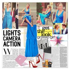 Get the Look: Season 6: Serena Van Der Woodsen by fashionistalooks on Polyvore featuring 3.1 Phillip Lim, Christian Louboutin, H&M, Bounkit, NARS Cosmetics, Aveeno, Urban Outfitters, Givenchy and Victoria's Secret