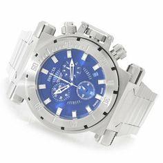 Invicta 51mm Coalition Forces Swiss Made Quartz Chronograph Bracelet Watch w/ Three-Slot Dive Case