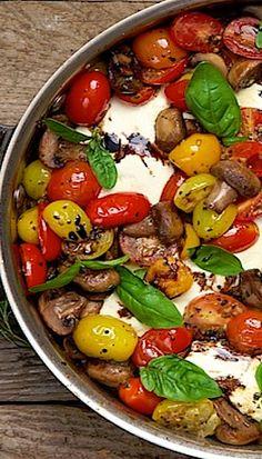 Italian Chicken – Caprese Style