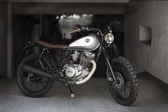Yamaha SR 250 CRD#16 ¨Atómica¨ / Encargos de otros clientes / motos / Home - Cafe Racer Dreams