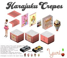 Create Your Own, Create Yourself, Banana Berry, Sims 1, Chocolate Strawberries, Animal Crossing, Harajuku, Convenience Store, Old Things