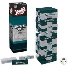 Jenga Philadelphia Eagles <-- Have a feeling Mike would like this ;)