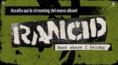 Ascolta qui il nuovo album dei Rancid