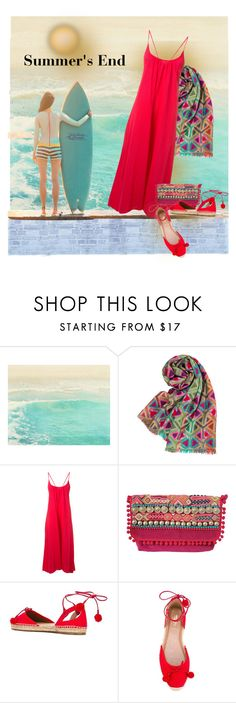 """Summer's End"" by bb60477 ❤ liked on Polyvore featuring Costa, 9seed and Aquazzura"