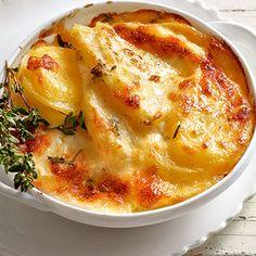 Sellerie-Kartoffel-Gratin mit Äpfeln