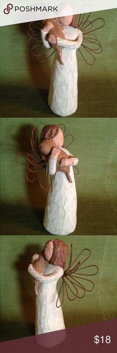 WILLOW TREE FIGURE 5INCHES ANGEL OF FRIENDSHIP WILLOW TREE FIGURE 5INCHES ANGEL OF FRIENDSHIP no box WILLOW TREE Other