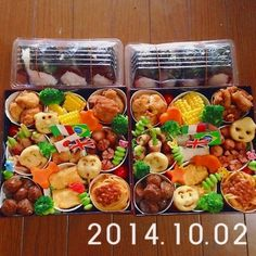 2014年 運動会のお弁当♡
