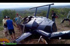 UNAIENSES: CORINTO-MG - Helicóptero cai depois de colisão com...
