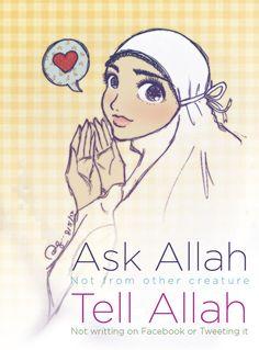 Ask Allah by finieramos.deviantart.com on @deviantART