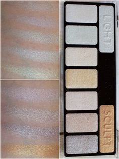 Catrice The Ultimate Collection Chrome палитра теней для век, Swatch