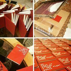 Hand-printed Valentine's gifts!  Notebooks available from www.alfamarama.etsy.com   #handprinted #handprinting #handmade #print #printmaking #printmaker #oldschool #retro #vintage #midcenturymodern #hift #valentines #valentinesday #valentinesdaygift #valentinesgift #boyfriendgift #girlfriendgift #boyfriend #girlfriend #gaygift #lesbiangift #husband #wife #husbandgift #wifegift