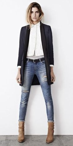 minimal fall style All Saints