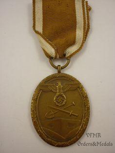 Germany West Wall medal (World War 2)