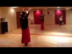 The basic flamenco dance step uses heels to keep rhythm. Learn how to do basic flamenco footwork in this free dance lesson video from an award-winning flamen...