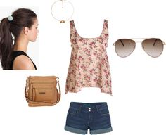 """""""perfect outfit for date to the zoo With Niall Horan"""" by daniellep630 ❤ liked on Polyvore"""
