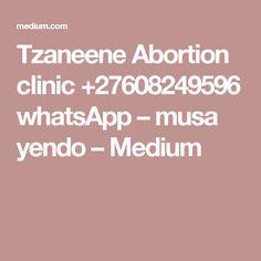 Tzaneene Abortion clinic +27608249596 whatsApp – musa yendo – Medium Clinic, Medium, Medium-length Hairstyle