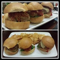 Meatball Trio at Tony's Town Square