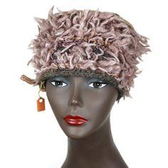 ARTSY, HIP, WOMAN'S HANDMADE HAT by Toni Jannelli 100% Wool - HAT6001 #Handmade #Ski #Casual