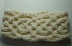 Check out this item in my Etsy shop https://www.etsy.com/listing/510029323/knit-celtic-cable-headband-womens