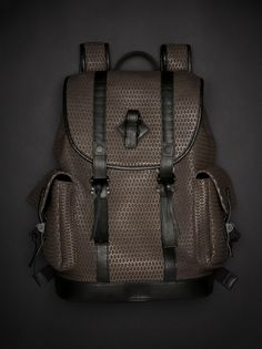 Emporio #Armani perforated backpack
