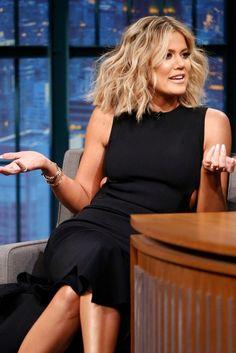 Khloe Kardashian volumuptous hair- Must try this Bumble & Bumble product!