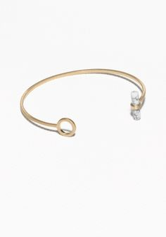 & Other Stories | Stone Bar Cuff $13.22 in us dollars