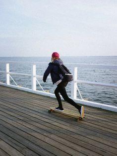 Longboarding #Skate #Water #Longboard