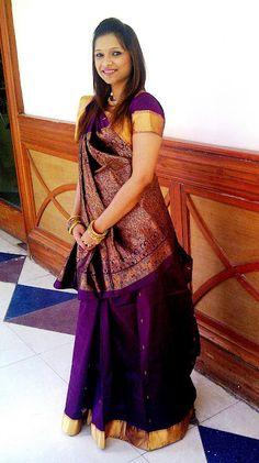 Indian weddings - Kanjeevaram saree
