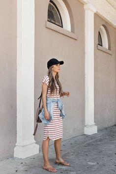 merricksart.com | Casual momiform #stripes #momiform