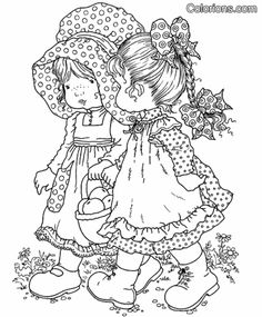 Holly Hobbie coloring pages - Google Search