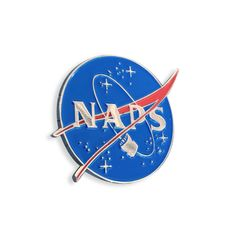 """1"""" Hard Enamel Polished Silver Plated Lapel Pin w/ dual post black rubber backers"""