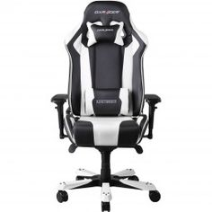 DXRacer King Series Gaming Chair - Black/White OH/KF06/NW