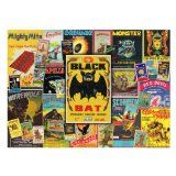 Supercharged Vintage Firecracker Labels 1000 Piece Jigsaw Puzzle Atlantis Toy and Hobby - posts handbags Vintage Fireworks, Classic Board Games, Firecracker, Wooden Puzzles, Brain Teasers, Atlantis, Werewolf, Games For Kids, 1000 Piece Jigsaw Puzzles