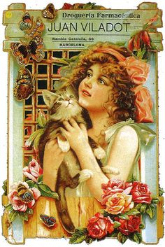 Vintage French Posters, Vintage Travel Posters, Vintage Postcards, Vintage Prints, Vintage Cat, Vintage Labels, Vintage Paper, Old Advertisements, Vintage Advertising Posters