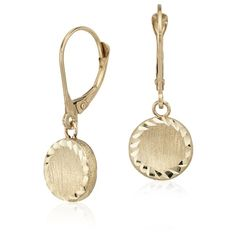 Blue Nile Round Drop Earrings ($195) ❤ liked on Polyvore featuring jewelry, earrings, blue nile earrings, 14k jewelry, earring jewelry, 14 karat gold jewelry and blue nile