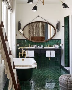 Beautiful bathroom by Soho House Los Angeles - Home Design and Decoration Soho House, Interior Design Minimalist, Interior Modern, Luxury Interior, Design Apartment, The Apartment, Vintage Apartment, Apartment Interior, Interior Minimalista