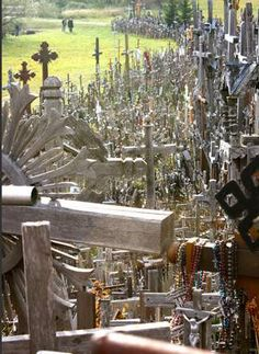 Lithuania's Haunting Hill of Crosses #2