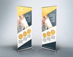 """Check out new work on my @Behance portfolio: """"Business Roll-Up Banner - v33"""" http://be.net/gallery/36812187/Business-Roll-Up-Banner-v33"""