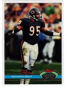 Richard Dent .. Sports Cards .. NFL Trading Cards .. $1.00